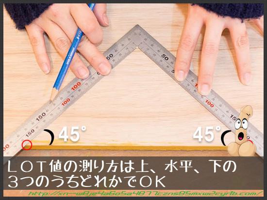 LOT値の測り方
